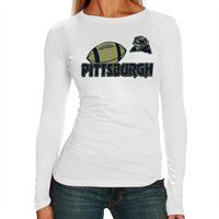Pittsburgh Panthers Ladies Perfect Fit Long Sleeve T-Shirt