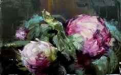 Gorgeous Palette Knife Paintings of Flowers by Carmelo Blandino - My Modern Metropolis