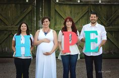 Gestational surrogacy maternity pictures