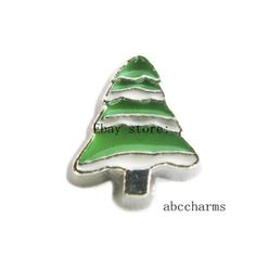 LOT 10pcs Tree Floating charms For Glass living memory Locket FC1105