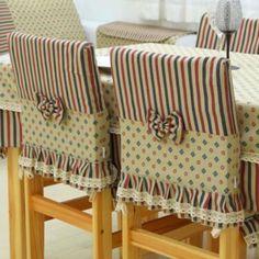 Paso a paso fundas para sillas y sillones y mucho mas cobertores de sillas de comedor pinterest - Faldones para sillas ...