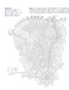 Magic Crochet Nº 83 - claudia - Picasa Web Albums Crochet Doily Diagram, Crochet Doily Patterns, Crochet Chart, Filet Crochet, Crochet Motif, Crochet Dollies, Crochet Buttons, Thread Crochet, Crochet Scarves
