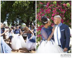 Katlego & Lebogang's Traditional Wedding {Rustenburg} African Traditional Wedding Dress, Traditional Dresses, Traditional Weddings, Wedding Wear, Chic Wedding, African Wedding Attire, African Weddings, African American Brides, African Women