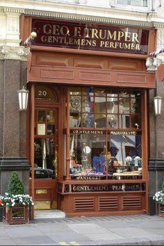Geo F Trumper - Gentleman's Barbers & Perfumers, 1 Duke of York St., London.