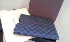 Louis Vuitton ipad cover. real shoot. $108+FREE shipping+on-line payment