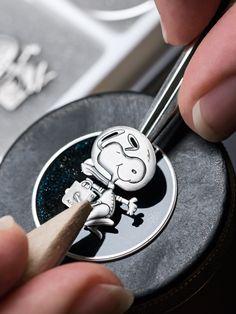 OMEGA Watches: The Speedmaster Moonwatch Apollo 13 Silver Snoopy Award