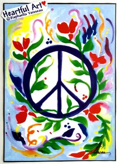 Peace sign by Raphaella Vaisseau