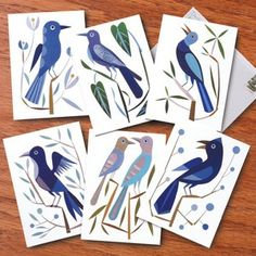 I love the simplicity of these birds...from Bas Bleu catalog