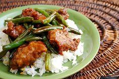 Beef & green bean stir fry from joelens.blogspot.com aka What's Cookin' Chicago?.