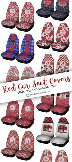 172afeecdcff Personalized Car Seat Covers (Set of Two) - YouCustomizeIt
