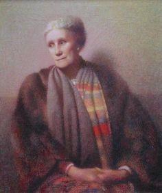 Gertrude, oil on canvas, © 2012 Carl Schmitt Foundation