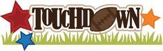 Touchdown SVG scrapbook title football svg scrapbook title football svg cut files free svgs