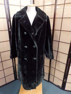 19922 Long Brown Beaver Faux Fur Women's Coat Jacket Borgazia in Clothing, Shoes & Accessories, Women's Clothing, Coats & Jackets | eBay