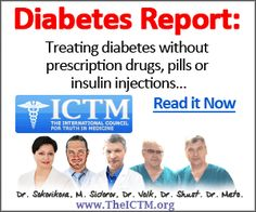 Shocking new scientific research uncovered how to treat the root cause of diabetes. Doctors at the International Council for Truth in Medicine have perfected these diabetes treatment methods: