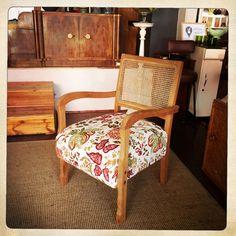 ANOUK offers an eclectic mix of vintage/retro furniture & décor.  Visit us: Instagram: @AnoukFurniture  Facebook: AnoukFurnitureDecor   April 2016, Cape Town, SA. Rattan Armchair, Cape Town, Decoration, Facebook, Photo And Video, Instagram, Furniture, Home Decor, Retro Vintage