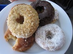 June 1st! It's National Donut Day! Unfortunately we gluten free guys and gals can't just run to Dunkin or Krispy Kreme to grab a treat but we CAN serve them up ourselves! It's donut time! Buttermil...