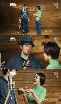 Jason Mraz shows off his knowledge of ramen on SNL Korea