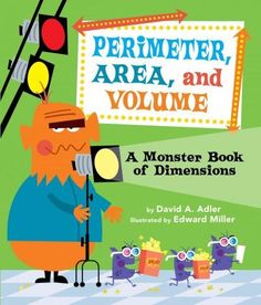 Grab your jumbo popcorn and 3-D glasses, because you're invited to the premiere of a 3-D movie! The star-studded cast of monsters will help you calculate the perimeter of the set, the area of the movi