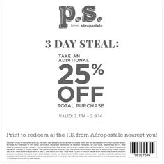 20 off aeropostale coupon codes amp printable coupons 2019 - 662×661