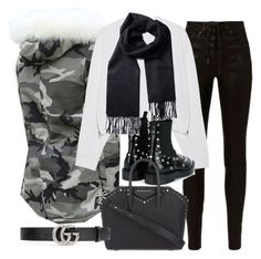 """Untitled #20784"" by florencia95 ❤ liked on Polyvore featuring rag & bone, Acne Studios, Balenciaga, Givenchy and Gucci"