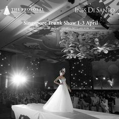 #Brides, for the first time in Asia, join us for the Ines Di Santo #trunkshow here in #Singapore, 1-3 April, featuring #weddingdress from the Spring/Summer and Fall/Winter 2016 collections. Photography: @awie/@axioo  Ask us for an appointment, info@theproposal.com.sg | +65 68357077 | +65 91061286.  #theproposalbridal #bridal #singaporeweddings #sgweddings #weddingdress #bridalfashion #weddinggown #brides #bridalgowns #wedding #weddings #love #fashion #jakarta #indonesia #bridalcouture #결혼식…