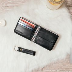 Christmas gift idea for men: Our Men's Set in Black Wallet With Coin Pocket, Swiss Design, Man Set, Calf Leather, Calves, Christmas Gifts, Gift Ideas, Black, Accessories