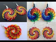 Beaded earrings 383650462011221492 - Source by denttap Beaded Jewelry Designs, Seed Bead Jewelry, Bead Jewellery, Seed Bead Earrings, Beaded Earrings, Beading Projects, Beading Tutorials, Beading Patterns, Jewelry Making Tutorials