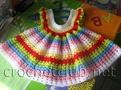Crochet Baby Girl: Dresses corchet - Web
