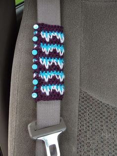 MandaLynn's Crochet Treasures : Crochet Seat Belt Cozy