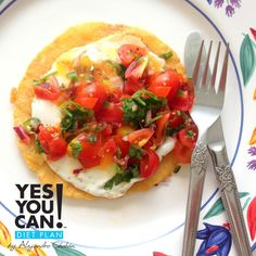 Huevos Rancheros - A healthy option for your Yes You Can! Diet Plan breakfast
