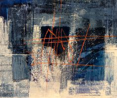 Midnight Blue, картина 100х120 см, холст, масло