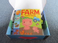 View my review on this fun sticker book with puzzle! From Little Tiger Press