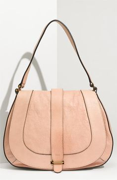 CHLOE SMALL HOBO HAYLEY IN SMOOTH CALFSKIN CARAMEL | HANDBAG ...