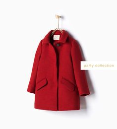 Image 1 of Flap pocket coat from Zara