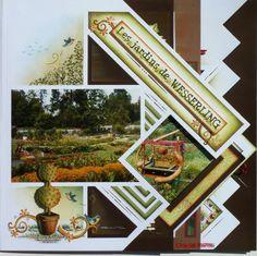 Les jardins de Wesserling | Azza - Leader du scrapbooking