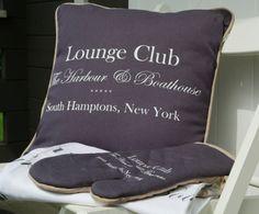 Tekstylia Lounge Club przeniosą Cię w iście nadmorski klimat Hampton...Dostępne w sklepie hamptons.pl