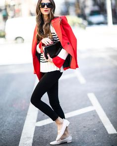 50 Charming Casual Spring Outfit Ideas To Look Amazing Everyday Thigh High Boots Outfit, Something Navy, Casual Outfits, Fashion Outfits, Work Outfits, Spring Summer Trends, Spring Style, Winter Style, Ballerina Flats