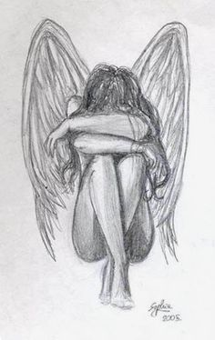 Drawing of angel is so pretty!!!!