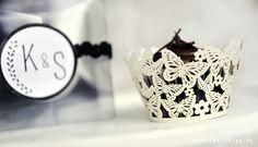 cupcakes, muffinki, babeczki dla gości weselnych - partymika