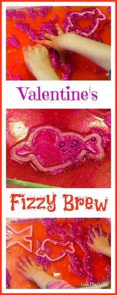 Super fun Valentine's Science Sensory Fizzy Brew Activity!