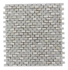 Soho Studios - Gem Pearl Star Bright Mini Brick #tile #backsplash