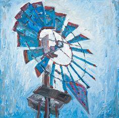 Apple Farm Windmill giclee print by SteveHartmanFineArt on Etsy, $15.00/$50.00