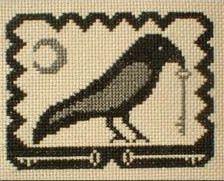 Olde Crow - Cross Stitch Pattern