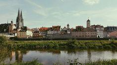 Regensburg, Donau, Steinerne Brücke.  Chill in a sunny day ☀ my favorite city