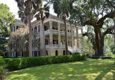 "Dr. Joseph Johnson House, ""The Castle"". 411 Craven Street, Beaufort South Carolina. Built Circa 1859-1861."