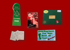 Christmas Awards Package from Santa. Great gift for children!