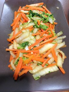 How to Cook Chinese Cabbage and Carrots