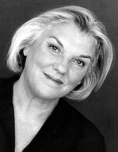 """""""You know, my hair is very upsetting to people, but it's upsetting on purpose. It is important to look old so that the young will not be afraid of dying. People don't like old women. We don't honor age in our society, and we certainly don't honor it in Hollywood."""" - Tyne Daly : I ♥ her hair!  I'm 43 & have been wanting gray for years....I've earned them!  As of 6/30/12, I have about 6! <3"""
