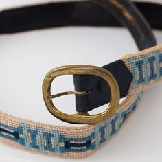 Men's Handstitched Needlepoint Belt by VintageHarvey on Etsy, $55.00