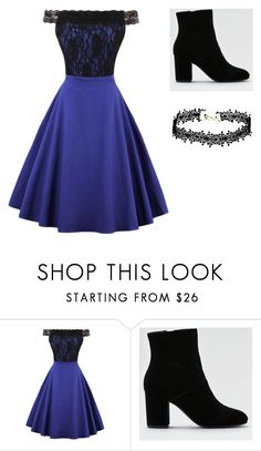 Léa's Style 2 by norah-wonder on Polyvore featuring mode, WithChic, American Eagle Outfitters, NightOut and dress